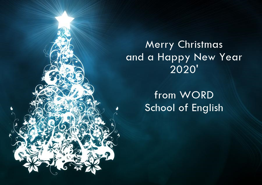 Merry Christmas and a Happy New Year 2020 from WORD School of English